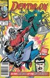 Cover for Deathlok (Marvel, 1991 series) #2 [Newsstand]