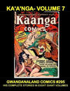 Cover for Gwandanaland Comics (Gwandanaland Comics, 2016 series) #295 - Kaänga - Volume 7