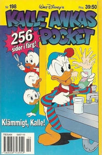 Cover Thumbnail for Kalle Ankas pocket (Serieförlaget [1980-talet], 1993 series) #198 - Klämmigt, Kalle!
