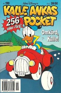 Cover Thumbnail for Kalle Ankas pocket (Serieförlaget [1980-talet], 1993 series) #199 - Omkörd, Kalle!