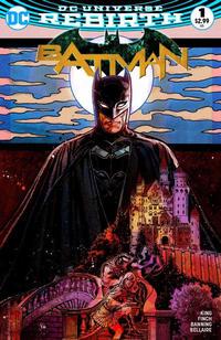 Cover Thumbnail for Batman (DC, 2016 series) #1 [Zapp! Comics Exclusive Tony Harris Color Variant]
