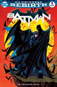 Cover Thumbnail for Batman (DC, 2016 series) #1 [Comic Con Box Exclusive Barry Kitson Color Variant]