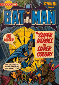 Cover Thumbnail for Batman and Robin (K. G. Murray, 1976 series) #3
