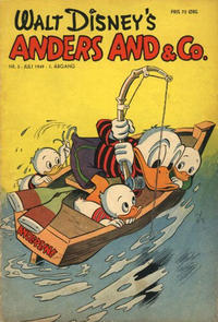 Cover Thumbnail for Anders And & Co. (Egmont, 1949 series) #5/1949