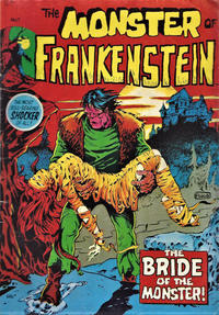 Cover Thumbnail for The Monster of Frankenstein (Yaffa / Page, 1975 ? series) #1