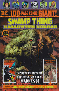 Cover Thumbnail for Swamp Thing Halloween Horror Giant (DC, 2018 series) #1