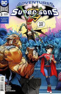 Cover Thumbnail for Adventures of the Super Sons (DC, 2018 series) #3