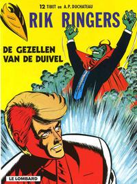 Cover Thumbnail for Rik Ringers (Le Lombard, 1963 series) #12 - De gezellen van de Duivel