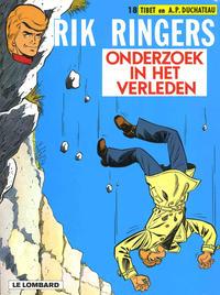 Cover Thumbnail for Rik Ringers (Le Lombard, 1963 series) #18 - Onderzoek in het verleden