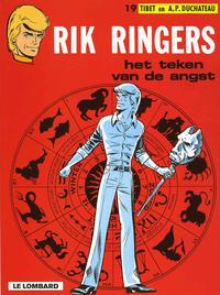 Cover Thumbnail for Rik Ringers (Le Lombard, 1963 series) #19 - Het teken van de angst