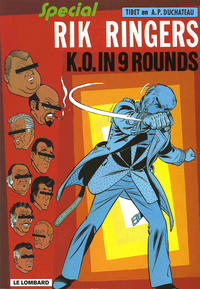 Cover Thumbnail for Rik Ringers (Le Lombard, 1963 series) #31 - K.O. in 9 rounds
