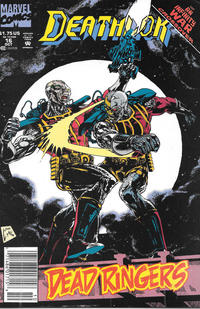 Cover Thumbnail for Deathlok (Marvel, 1991 series) #16 [Newsstand]