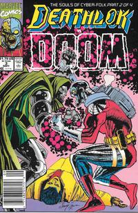 Cover Thumbnail for Deathlok (Marvel, 1991 series) #3 [Newsstand]