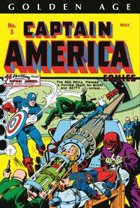 Cover Thumbnail for Golden Age Captain America Omnibus (Marvel, 2014 series) #1 [Alex Schomburg Cover]