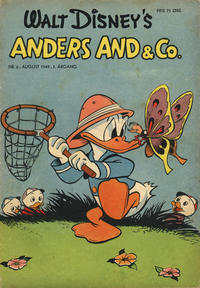 Cover Thumbnail for Anders And & Co. (Egmont, 1949 series) #6/1949