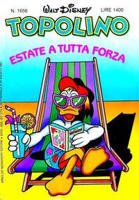 Cover Thumbnail for Topolino (Arnoldo Mondadori Editore, 1949 series) #1656