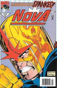 Cover Thumbnail for Nova (Marvel, 1994 series) #2 [Newsstand]