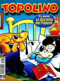 Cover Thumbnail for Topolino (The Walt Disney Company Italia, 1988 series) #2401