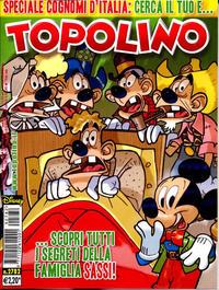 Cover Thumbnail for Topolino (The Walt Disney Company Italia, 1988 series) #2782