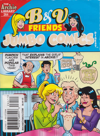 Cover for B&V Friends Double Digest Magazine (Archie, 2011 series) #264