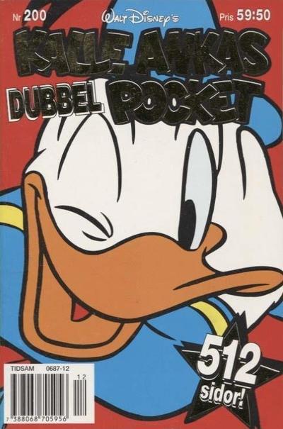Cover for Kalle Ankas pocket (Serieförlaget [1980-talet], 1993 series) #200