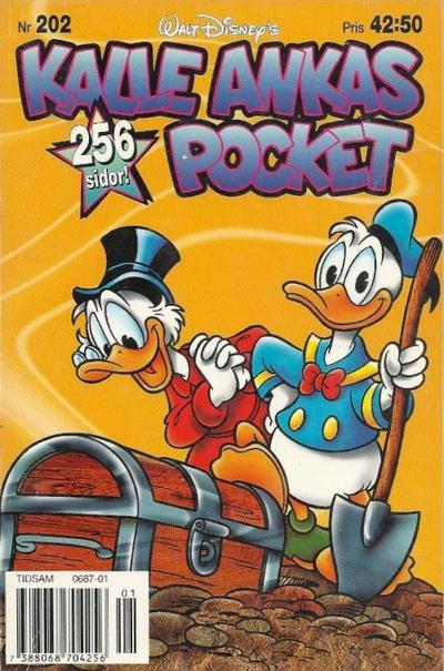 Cover for Kalle Ankas pocket (Serieförlaget [1980-talet], 1993 series) #202