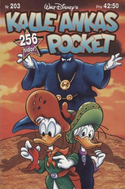 Cover for Kalle Ankas pocket (Serieförlaget [1980-talet], 1993 series) #203