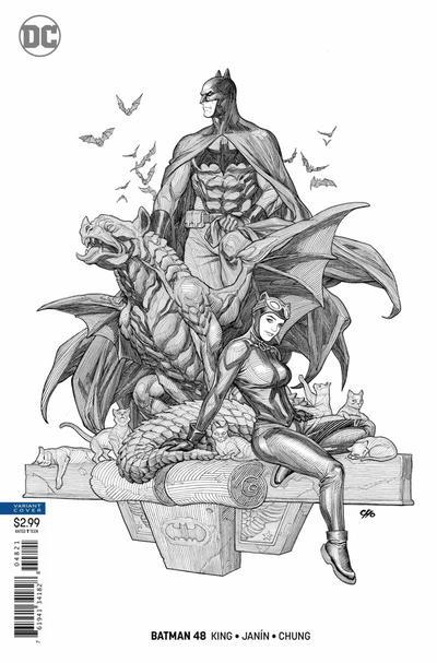 Cover for Batman (DC, 2016 series) #48