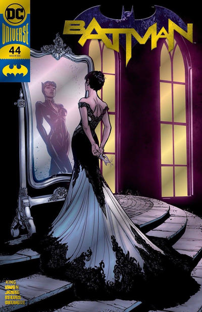 Cover for Batman (DC, 2016 series) #44 [Joëlle Jones Cat Cover]