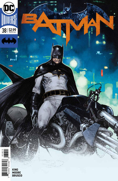 Cover for Batman (DC, 2016 series) #38 [Second Printing]
