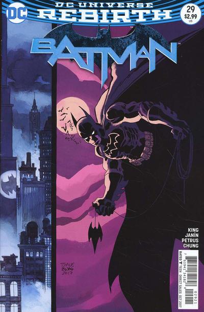 Cover for Batman (DC, 2016 series) #29