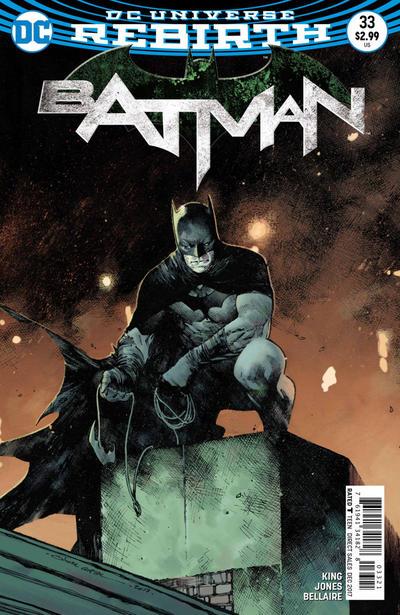 Cover for Batman (DC, 2016 series) #33