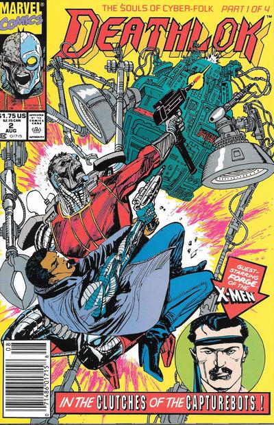Cover for Deathlok (Marvel, 1991 series) #2 [Direct]