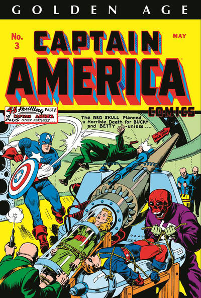 Cover for Golden Age Captain America Omnibus (Marvel, 2014 series) #1 [Lee Weeks Cover]