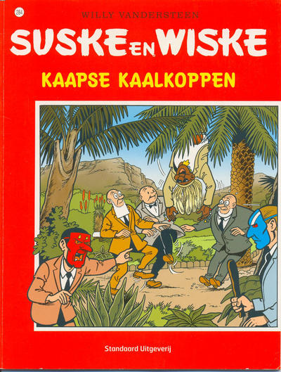 Cover for Suske en Wiske (Standaard Uitgeverij, 1967 series) #284 - Kaapse kaalkoppen