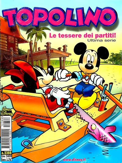 Cover for Topolino (The Walt Disney Company Italia, 1988 series) #2388