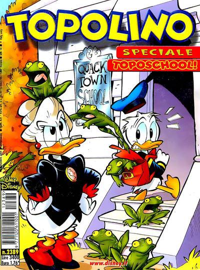 Cover for Topolino (The Walt Disney Company Italia, 1988 series) #2389