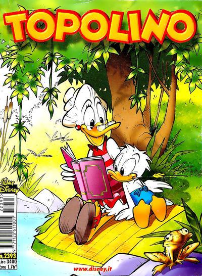 Cover for Topolino (The Walt Disney Company Italia, 1988 series) #2393