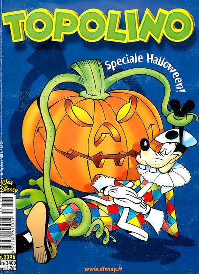 Cover for Topolino (The Walt Disney Company Italia, 1988 series) #2396