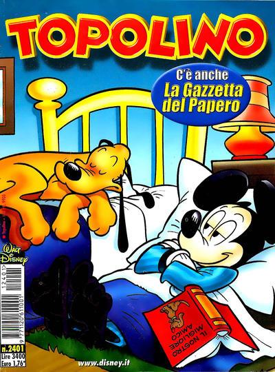 Cover for Topolino (The Walt Disney Company Italia, 1988 series) #2401