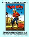 Cover for Gwandanaland Comics (Gwandanaland Comics, 2016 series) #312 - A Tom Mix Treasury Volume 1