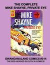 Cover for Gwandanaland Comics (Gwandanaland Comics, 2016 series) #314 - The Complete Mike Shayne, Private Eye