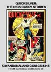 Cover for Gwandanaland Comics (Gwandanaland Comics, 2016 series) #315 - Quicksilver: The Nick Cardy Stories
