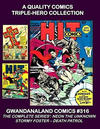 Cover for Gwandanaland Comics (Gwandanaland Comics, 2016 series) #316 - A Quality Comics Triple-Hero Collection