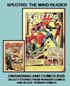 Cover for Gwandanaland Comics (Gwandanaland Comics, 2016 series) #329 - Spectro: The Mind Reader