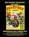 Cover for Gwandanaland Comics (Gwandanaland Comics, 2016 series) #331 - Red Ryder Treasury: Volume 1