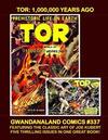 Cover for Gwandanaland Comics (Gwandanaland Comics, 2016 series) #337 - Tor: 1,000,000 Years Ago