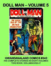 Cover for Gwandanaland Comics (Gwandanaland Comics, 2016 series) #343 - Doll Man - Volume 5