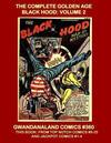 Cover for Gwandanaland Comics (Gwandanaland Comics, 2016 series) #360 - The Complete Golden Age Black Hood: Volume 2