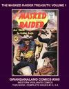 Cover for Gwandanaland Comics (Gwandanaland Comics, 2016 series) #369 - The Masked Raider Treasury Volume 1